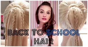 Simple Girls Hairstyles by Easy Cute Girls Hairstyles For Summer Medium Long Hair
