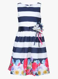 buy tiny navy blue party dress for kids online india best
