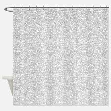 Silver Shower Curtains Curtains Mesmerizing Silver Shower Curtain Ideas Metallic Silver