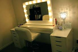 makeup dressing table with mirror mirror vanity table with lights new makeup table with lights or