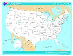 united states map with states and capitals and major cities us map of state capitals map usa states and capitals 11 maps