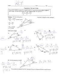 law of sines worksheet law of sines worksheet pdf with answer key