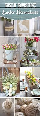 easter decorations for the home 20 rustic easter decorations bringing a farmhouse appeal to your home