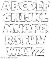 dikke letters met schaduw alphabet soup pinterest bullet
