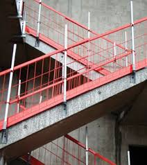 miller epic stair barrier system fall protection honeywell safety