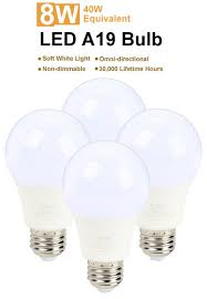 proht 88163 soft white led a19 40w replacement light bulb non