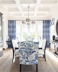 Blue Upholstered Dining Chairs Blue And White Dining Chairs Brilliant Best 25 Navy Rooms Ideas On