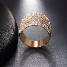 luxury gold rings images Online shop malanda brand design 2018 new luxury gold color top jpg