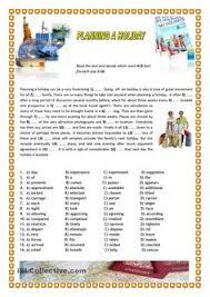 holidays free esl worksheets english conversation study