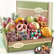 fruit gift boxes deluxe goodies and fruit gift box ab2032 a gift inside