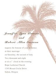 palm tree wedding invitations theme coconut tree destination wedding invitation cards