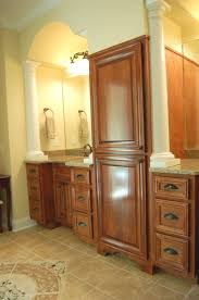 master bathroom decorating ideas which will impress you bathroom rustic layout remodel with wooden cabinet design and brown wood drawers also creamy contemporary master