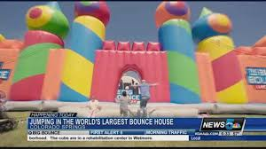 black friday bounce house world u0027s largest bounce house in colorado springs koaa com