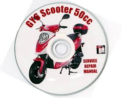 chinese scooter 50cc gy6 service repair shop manual on cd jianshen