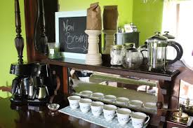 Coffee Bar Table Coffee Bar Style Your Grounds For Less Than A Pound How To