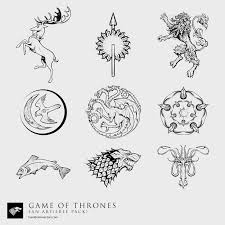 house stark sigil by dutchlion game of thrones pinterest
