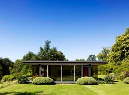 Glass Box House Simple Conex House Design With Brown Box That Combined The Big