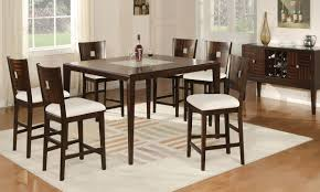 merlot contemporary counter height dining set haynes furniture