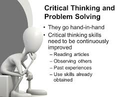 critical thinking sample essay
