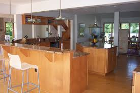 kitchen with bar design kitchens chance and associates