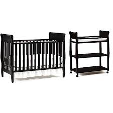 Graco Changing Table Espresso Graco Classic Convertible Crib W Mattress Changing Table