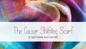 Textile Arts Now Tutorial 02 Tutorial The Colour Shifting Scarf The Blue Brick Inspired Yarns