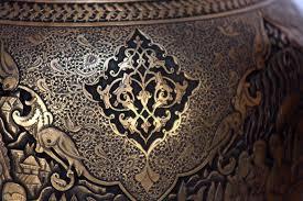 metal engraving ghalam zani engraving metal work qalamzanī persis