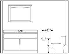 Average Height Of Bathroom Vanity by What Is The Standard Height Of A Bathroom Vanity Vessel Sink
