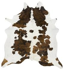 tri color spotted cowhide rug contemporary novelty rugs by