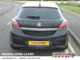 vauxhall astra 2005 astra 1 9 cdti mk5 with milltek sport turbo back exhaust