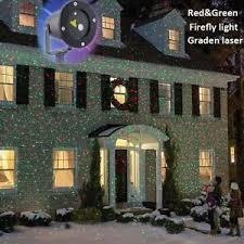 moving garden led laser light projector inside outside