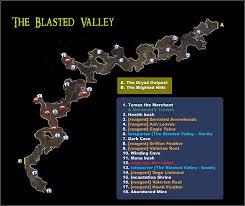 dungeon siege 2 broken 1 the blasted valley maps dungeon siege ii broken