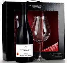 wine gift sets willamette valley vineyards tour and wine gift set