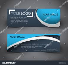 layout banner template professional web banner header layout template stock photo photo