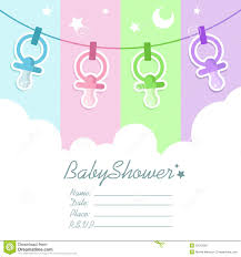 Blank Invitation Cards Templates Baby Shower Invitation Card Royalty Free Stock Photo Image 22512665