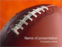 american football powerpoint template u0026 backgrounds id 0000000449