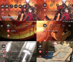 Theme Psp Fate Stay Night | fatestaynight psp theme by takebo on deviantart