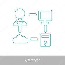 системный администратор значок техник значок компьютер