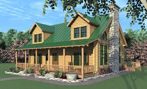 cabin style home plans the mendon log home exterior rendering home