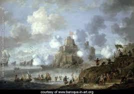 siege baroque castle siege from the turks jan peeters baroque in