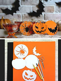 Halloween Crafts To Make At Home - easy halloween crafts for kids to make at home home decorating
