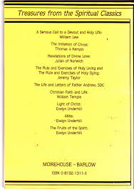 christian faith and life treasures from the spiritual classics