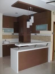 kitchen with mini bar design home design ideas