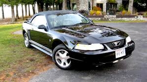 2000 Mustang Gt Black 2000 Ford Mustang Convertible