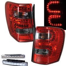 jeep grand cherokee led tail lights amazon com 1999 2004 jeep grand cherokee led tail lights rear brake