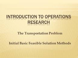 introduction to operations research ppt download