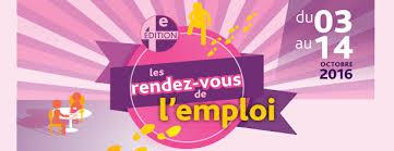 emploi rendez vous de l emploi du 3 au 14 octobre demain fr
