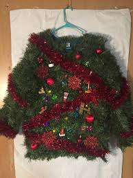 christmas tree sweater with lights photos the craziest most ugly christmas sweaters