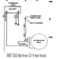 86 chevy alternator wiring diagram 86 wiring diagrams collection