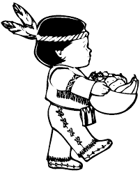 thanksgiving coloring pages of indians holidays coloring